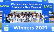 New Zealand win 2nd Test Photo Gallery - Sakshi