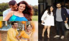 Indian Cricket Players With Family Photos - Sakshi