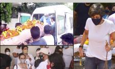 Mandira Bedi Husband Raj Kaushal's Funeral Photo Gallery - Sakshi