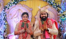 Actor Ashish Gandhi Marries Nikitha Photo Gallery - Sakshi