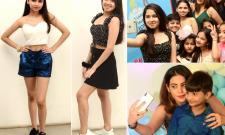 Diksha Panth Launch Poster of Upcoming Biggest Kids Talent Show - Sakshi