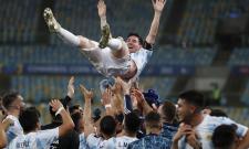 Argentina Brazil Copa America Soccer - Sakshi