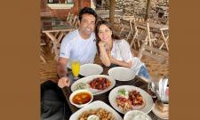 Kim Sharma dating tennis player Leander Paes Photo Gallery - Sakshi