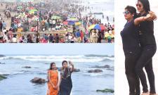 visakhapatnam rk beach photos - Sakshi