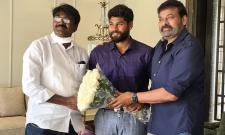 Minister Puvvada Ajay Along With His Son Meets KTR,Jr NTR And Megastar Chiranjeevi Photo Gallery - Sakshi