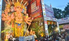 Khairatabad Ganesh Statue 2021 Photo Gallery - Sakshi