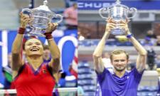 US Open 2021: Tennis Tournament Winners Photo Gallery - Sakshi