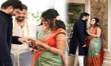 Manisharma Son Engagement Photo gallery - Sakshi