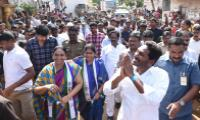 ys jagan mohan reddy Praja Sankalpa Yatra in  Vizag district - Sakshi