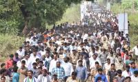 YS Jagan Praja Sankalpa Yatra in Vizianagaram - Sakshi