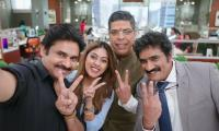 Agnyaathavaasi movie stills - Sakshi