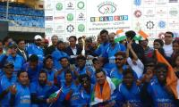 India beat Pakistan to win Blind Cricket World Cup - Sakshi