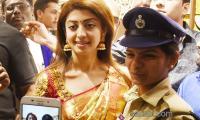 Heroin Pranitha Subhash Launches Private Shopping Mall in Adilabad - Sakshi