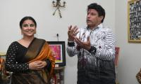 Vidya Balan Meets Balakrishna NTR Family Photo Gallery - Sakshi