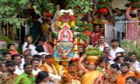 Bonalu Celebrations At Kanaka Durga Temple In Vijayawada Photo Gallery - Sakshi