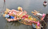 khairatabad ganesh immersion  - Sakshi