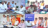Telangana MLA Candidate Nominations Photo Gallery - Sakshi