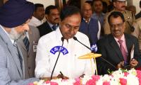 Eremony As The Chief Minister Of Telangana Photo Gallery - Sakshi