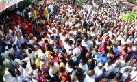 Heavy Rush Pilgrims At Tirumala Photo Gallery - Sakshi