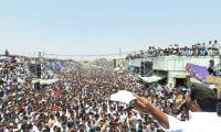 YS Jagan speech at Election campaign at Orvakal  - Sakshi