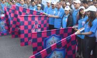 she team organizes 10k run in Hyderabad Photo Gallery - Sakshi