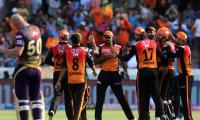 sunrisers win by 9 wickets photo Gallery - Sakshi