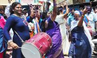 Celebrations YSRCP win in Andhra Pradesh Election Photo gallery - Sakshi