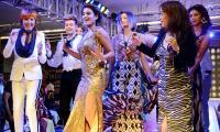 Nidhi Agarwal Glitters in A Fashion Show at Vijayawada Photo Gallery - Sakshi