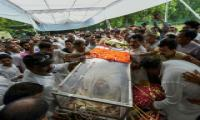 Sheila Dikshit funeral Photo Gallery - Sakshi