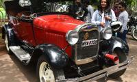 Vintage Car Exhibition at Lumbini Park Photo Gallery - Sakshi
