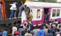 MMTS Train Collision Kachiguda Station Hyderabad Photo Gallery - Sakshi