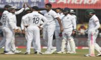 India win first Test against Bangladesh by an innings 130 runs Photo Gallery - Sakshi