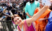 Kajal Aggarwal Visits Vijayawada Photo Gallery - Sakshi