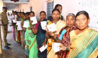 Telangana Municipal Elections Polling Photo Gallery - Sakshi