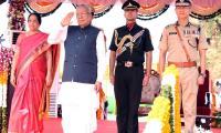 AP Governor Biswabhusan Harichandan Republic Day Celebrations In Vijayawada - Sakshi