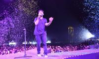 Singer Sid Sriram Performs LIVE at Gachibowli Stadium Photo Gallery - Sakshi