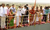Telangana CM inaugurates Kondapochamma Sagar project Photo Gallery - Sakshi