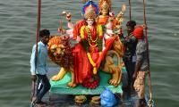 Durga Mata Nimajjanam at Tank bund 2020 Photo Gallery - Sakshi