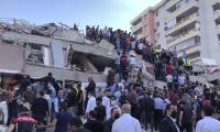 Powerful earthquake felt in Turkey Photo Gallery - Sakshi