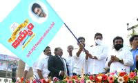 CM YS Jagan To Launch Ration Door Delivery Vehicles  - Sakshi