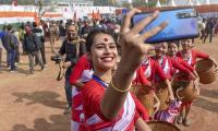 Republic Day full dress rehearsal 2021 Photo Gallery  - Sakshi