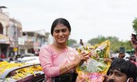 ys sharmila Huzurnagar Visit Photos - Sakshi
