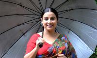 Vidya Balan Promotion Sherni Movie - Sakshi