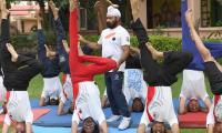 International Yoga Day 2021 Photo Gallery - Sakshi