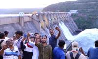 Srisailam Dam Gates Opened - Sakshi