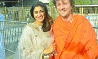 Actress Shriya Saran And Her Husband Visit Tirumala Temple Photo Gallery - Sakshi