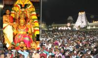Tirumala Pournami Garuda Seva Photos - Sakshi