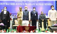 Justice Prashant Kumar Mishra Takes Oath As AP High Court Chief Justice Photo Gallery - Sakshi