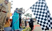 The Governor Inaugurated The Blackcat Rally Photo Gallery - Sakshi