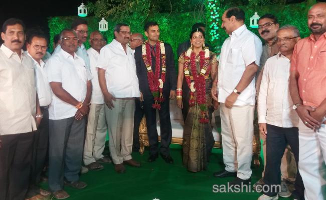 amrapalli weeding reception - Sakshi